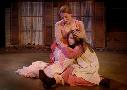 "Julie Austin Felder in ""The Miracle Worker"""