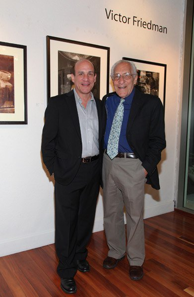 Paul Ben-Victor and his father Victor Friedman