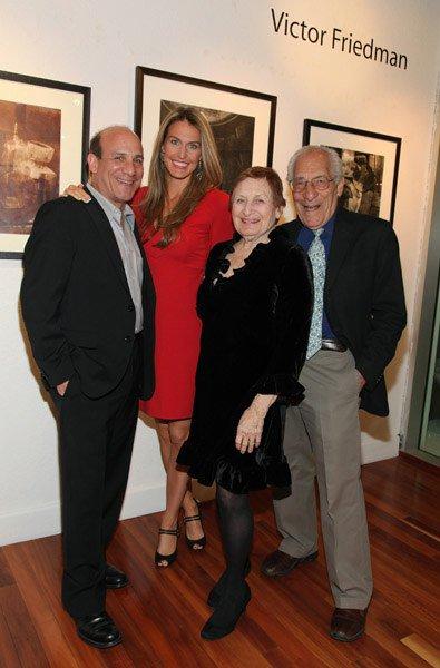 Paul Ben-Victor, Julie Ben-Victor, Leah Kornfeld Friedman, and Victor Friedman